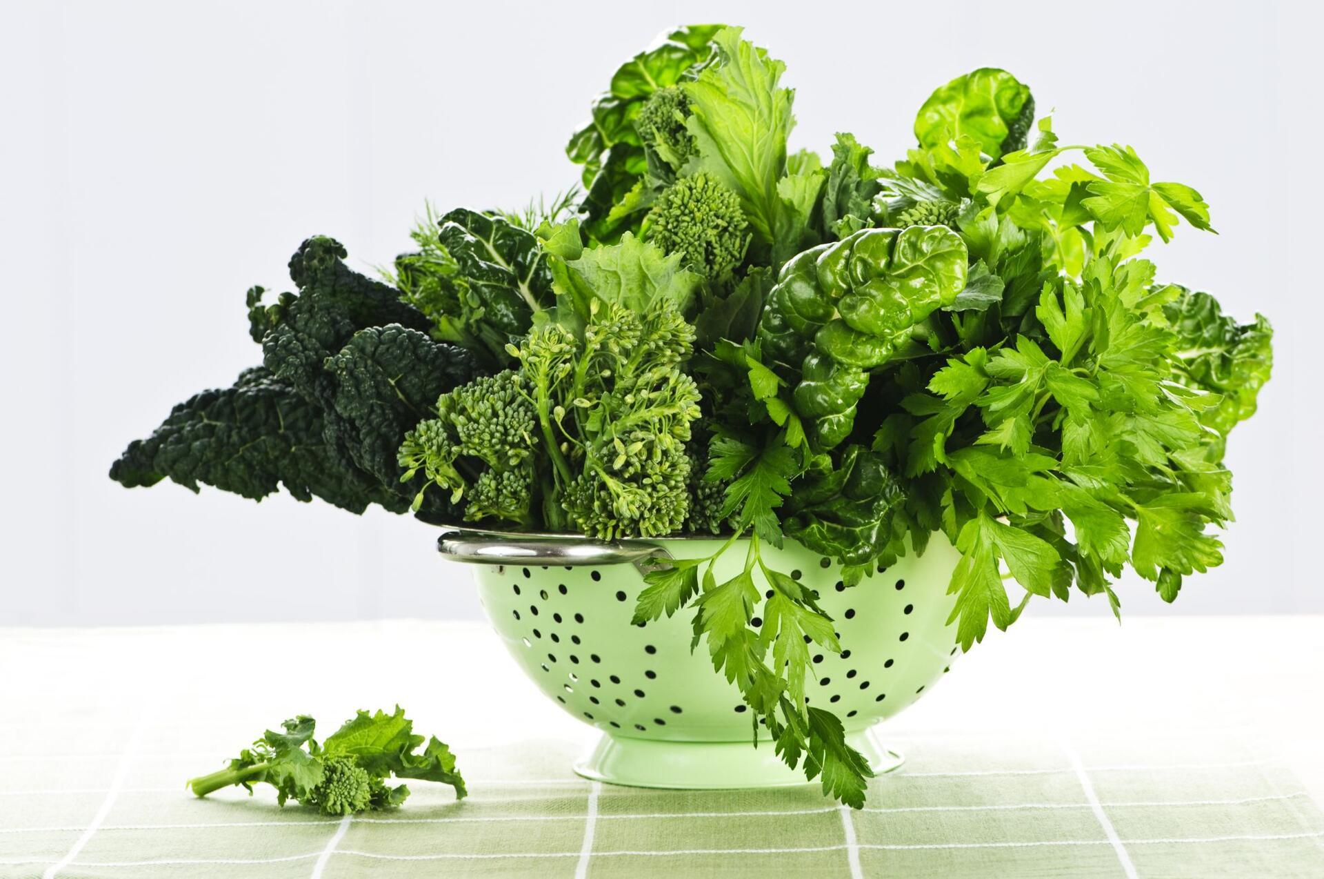 Новые исследования показывают, что лиственная зелень омолаживает мозг